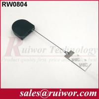 Quality Equipment Counterbalancing Display Security Tether With Sticky Metal Plate for sale