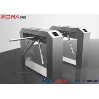 China Rfid Access Control Tripod Turnstile Gate Single / Bi - Direction Communication Interface on sale