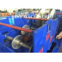 Quality Cable Tray Plank C U Channel Roll Forming Machine Hydraulic Cutter / Punch for sale