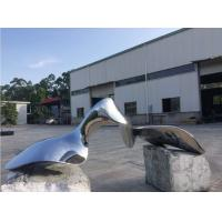 Quality Metal Outdoor Modern Abstract Sculpture Surface Polished Garden Ornaments for sale