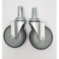 Buy Carts 5 Inch Caster Wheels , Shelf Metal Food Service Equipment Casters at wholesale prices