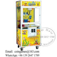 Quality China Electronic Shop Sponge Bob Arcade Toy Story Cranes Claw Machine For Sale for sale