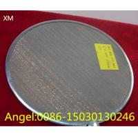 Quality Food grade Stainless Steel Wire Cloth Filter Disc Mesh/filter disc wire mesh for sale