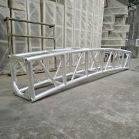 Quality 350 * 450mm Aluminum Curved Lighting Screw Truss For Outdoor Show for sale