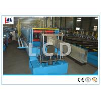 Quality Metal Steel Pipe Cold Roll Forming Machine 10m / Min AC Motor With Lock Seam for sale
