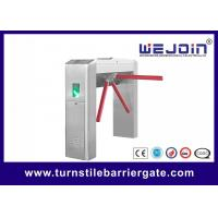 China RFID Card Pedestrian Barrier Turnstile Gate Automatic With Traffic Light Indicator on sale