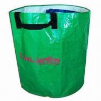 Quality Round-shaped Garden Bag, Made of 150gsm PP Woven for sale