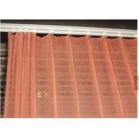 Buy cheap 0.8MM Hanging Metal Coil curtain As Interior Decorative Mesh For Exhibition Hall from wholesalers
