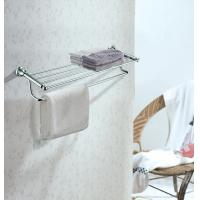 Buy High Quality Brass Bathroom Accessory Towel Rack Mounting Hardware Towel Shelf at wholesale prices