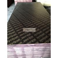 Quality Black Film Faced plywood 12mm/15mm/18mm/20mm with 48 hours boiling water resistance and excellent effect of demoulding for sale