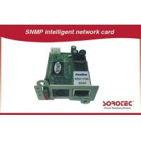 Quality SNMP Card and AS400 Card for UPS,Apply to remote monitoring UPS in network for sale