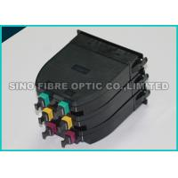 Quality High Density ABS 12F Fiber Optic MPO MTP Cassette Module LGX Format for sale
