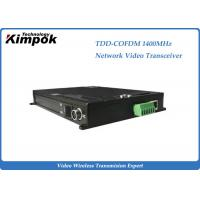 Buy COFDM Ethernet Video Transmitter TDD Full Duplex Wireless Transceiver Drone Video Link at wholesale prices