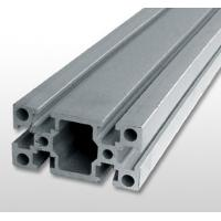 Quality Silver Industrial Aluminium Profile , Alloy 6061 T6 Aluminium Extrusion for sale