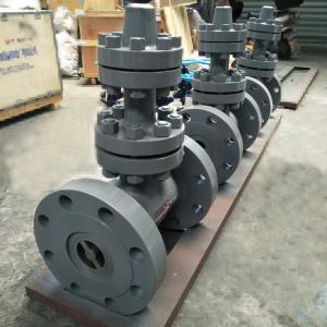 Quality API DIN GOST Standard Cast Steel Forged Steel  Wedge Weld Flange Gate Valve for sale