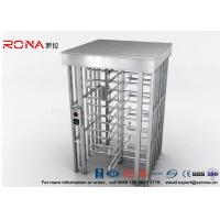 Quality Indoor Or Outdoor Pedestrian Turnstile Security Systems Semi-Auto Mechanism Housing With CE Approved for sale