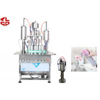 Quality Air Freshener Spray Filling And Capping Machine 5000-8000cans/Shift Production Capacity for sale