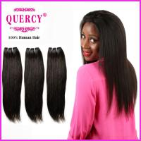 Quality Top Quality 8a grade Peruvian  Virgin Remy Straight Human Hair weave for sale
