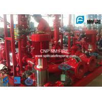 Quality High Pressure Skid Mounted Fire Pump 450GPM/105PSI With Ductile Cast Iron Casing for sale