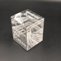 Buy cheap clear plastic boxes soft crease box folding up box acetate box printing from wholesalers