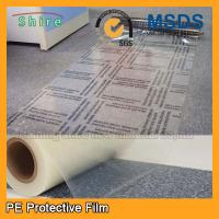 China Custom Plastic Floor Covering Roll Protective Plastic Film For Carpets on sale