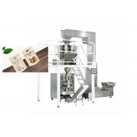 Quality Electric Driven Type Cashew Nuts Raw Packing Machine  Speed 20-100 Bags / Min for sale