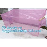 China Square Bottom 4mil Clear Pallet Cover, square bottom bag on roll pallet cover bag, Polyester Pallet Cover Bags, Pallet T on sale