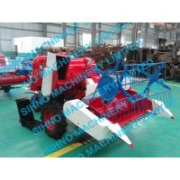 Quality mini paddy combine harvester with Tyre wheel for sale