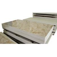China Office Building Patterned Decorative Fiber Cement Board Marble Design Sound Insulated on sale