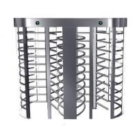 Quality Full Height Turnstile 304 Stainless Steel RFID Access Control Door for sale