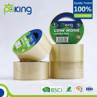 Buy cheap High sticky clear custom low noise bopp packing tape from wholesalers
