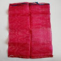 Quality Flexible Red Heavy Duty Mesh Bag , 100% Virgin PP Mesh Packing Bags for sale