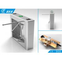 Buy 304 Stainless Steel Vertical Tripod Turnstile Channel Width 550 Mm Anti - Reverse at wholesale prices