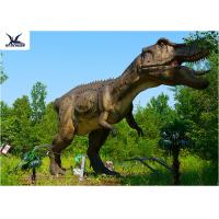 Quality Life Size Tyrannosaurus Rex Dinosaur Replica , Life Like Garden Animals  for sale