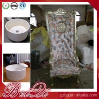 Pedicure spa with high back throne chair comfortable luxury pedicure spa massage