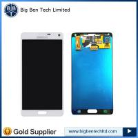 Quality Wholesale OEM for Galaxy Note 4 LCD display touch screen digitizer assembly for sale