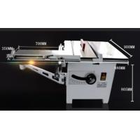 Quality MJ243C Woodworking circular sawing machine with mobile workbench, Inclination saw for sale