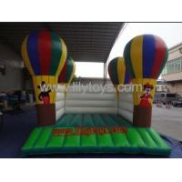 Buy PVC balloon Commercial Inflatable Bouncers / inflatable moonwalk for rent at wholesale prices