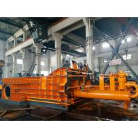Quality Motor Powerd Scrap Baler Machine , Scrap Baling Machine High Density Double Master Cylinder for sale