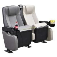 Quality XJ-6876 Xiangju 600mm Luxury Cinema Folding Chair with Cup Holder Factory Price for sale