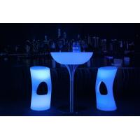 Quality 20 Colors LED Lit Furniture 8-10 Hours Run Time AC Plug LED Lounge Furniture for sale