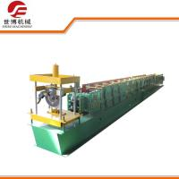Quality 8.5kw Full Automatic Purlin Roll Forming Machine With 0-15m / Min Speed for sale
