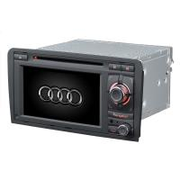 Quality Dual Zone Audi Car DVD Player LCD Display Touchscreen Suppport iPod ST-8603 for sale