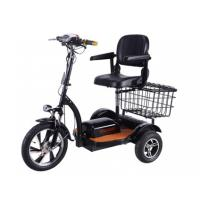 Quality 48v/500w Three Wheels Electric Handicapped Scooter with Front LED Lighting for sale