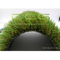 Quality C Shape Realistic Artificial Grass Products / Synthetic Turf Grass Weather Resistance for sale