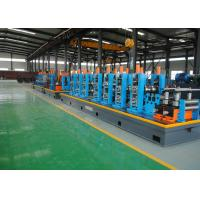 Quality Steel ERW Pipe Mill / Tube Mill Production Line For Square Pipe Production for sale