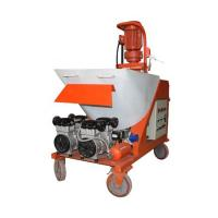 Quality Dry Mixed Automatic Cement Mortar Putty Gypsum Plaster Spraying Machine for sale