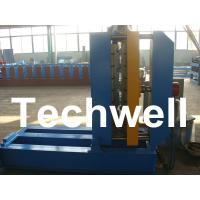 Quality 0.3 - 0.8mm Material Thickness Roof Sheet Crimped Curving Machine With PLC Control System for sale