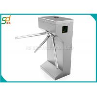 China ESD Vertical Tripod Turnstile Gate, Automatic Drop Arm Turnstiles Systems on sale
