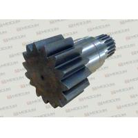 China Komatsu PC200-7 Excavator Slewing Large Vertical Gear Shaft With Steel Material on sale
